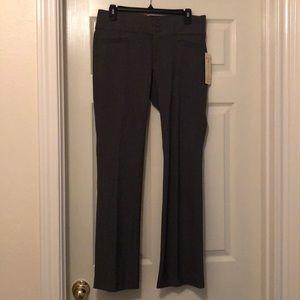Gray Simply Slender Fit Slacks